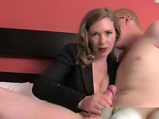 cougar instructs stud a Lesson