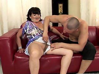 Butt Nut Buffet #9: Disco Teen Ria Swallows 4 Anal Creampies, Loves Life