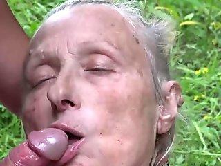 Femdom mistress face sits and lick an ass