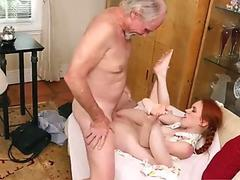 OldNannY Busty Mature Enjoys Lesbian Sex Partner