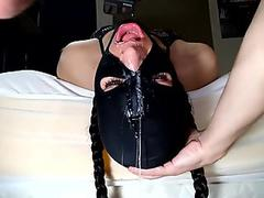 Throat Fucked Toy, Gagging, Messy, Spit, Valentina Holmes