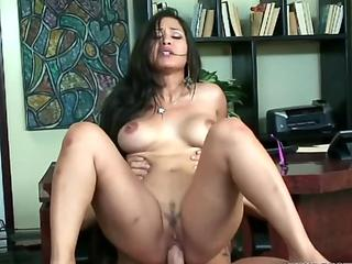 Jessica Bangkok is getting nailed in the office