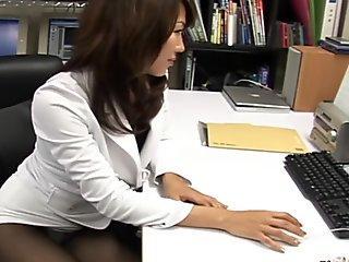 Av model shiori tsukimi in too short miniskirt suffers from upskirt voyeur!