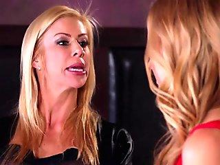 ScamAngels - Boss Busts Waitresses Bunny Colby And Lacy Lennon Slacking Off