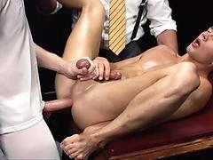 MormonBoyz - Smooth athletic bottom used in secret sex ceremony