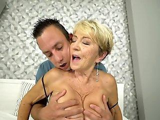 Busty Japanese girl gets pounded