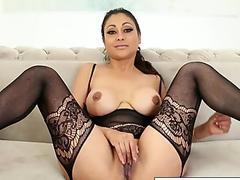 Adriana Chechik And Vicki Chase Share Alex Jones Big Brown Dick
