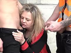 Free Dirty whore double penetration in truck bed Porn