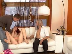 steamy Busty Asian Agent Marica Hase Gets Fucked anal by big black cock