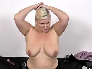 English granny sucks cocks and takes cum