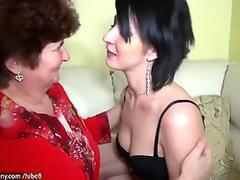 Threesome With The Step-Mom - Teen Lilly
