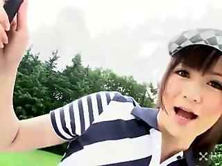 Michiru Tsukino Creampied by Golf Instructor (Uncensored JAV) by XMILF.US