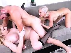 Naughty student Ivi Rein fakes illness for a cock