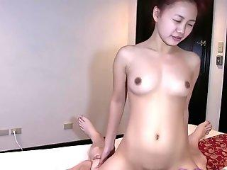 Trike Patrol - Cute Filipina gets pussy used fine by large milky dick