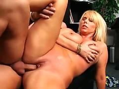 Step mom orgasm Hot Milf Fucked Delivery Guy