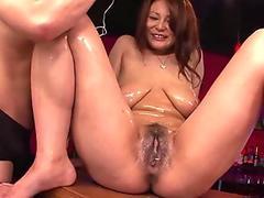 chinese woman, Airi Ai luvs getting coerced to cum, uncensored