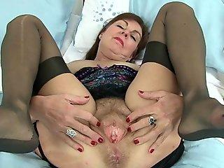 British granny fulfills her secret fantasy