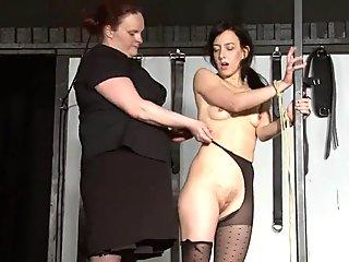 Jessica takes it all and loves it!
