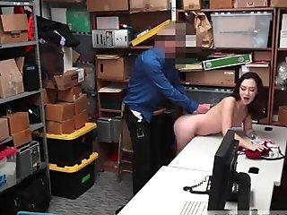Sexy Ebony Fucked And Cum On Pussy