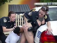 Amateur fucks herself first time I will catch any perp with a huge ebony dick