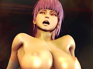 Teen Mary enjoys an anal fuck session!