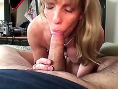 Amateur Blonde Granny likes it Rough Sex