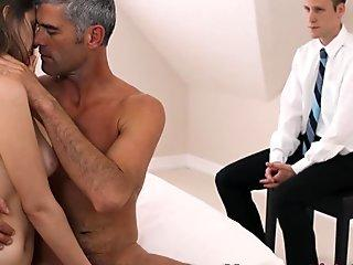 Teen fucked by bishop