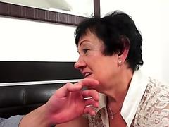 Massaged gilf gets jizzed