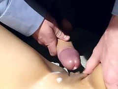bare chinese humps her suit-wearing white boss in many positions