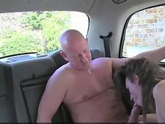 FemaleFakeTaxi Cabbie enjoys paramedics hefty chisel