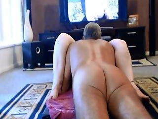 Dashing amateur with big cock masturbates and cums fat loads