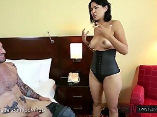 Hidden cam masturbation to loud orgasm
