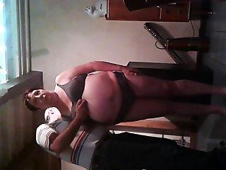 Teen Struggles To Fit A Big Cock In Her Tight Pussy