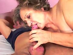 Hairypussy mature luvs the rock hard poking
