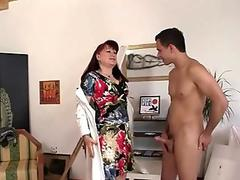 busty asian babe takes a hard man-meat after her bath