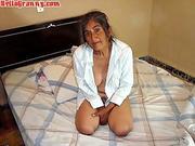 YOUG Boy fucks Sexy Mature MILF with Big Saggy Tits