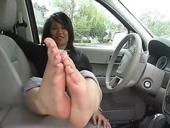 Asian MILF Feet JOI