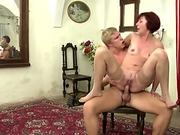 Horny black haired milf Rio Lee rides a stiff and long black cock
