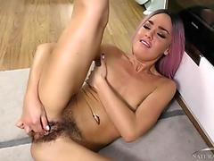 Lola's pussy is so hairy and scrumptious