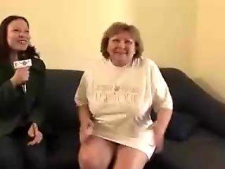 Hot mature granny gets fucked