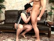 Horny Mother Seduces Her Son...f70