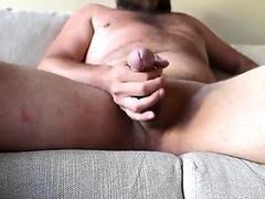 Wank my cock until double cumshot on vacation in Corsica.