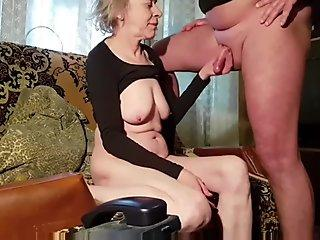 Massive big tits asian fucking two guys