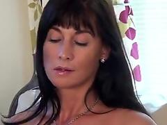 Watch free Cheating Cougar Krissy Lynn Blows Stepson to Shut Him Up!