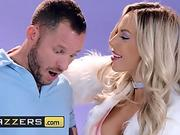 Brazzers - sizzling orgy chick, Olivia Austin,come to life