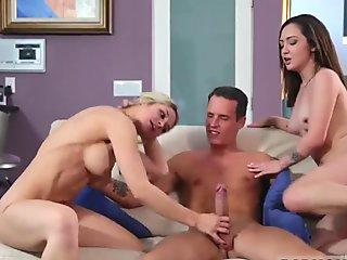 Double Anal Whores Make Perfect Team Mates