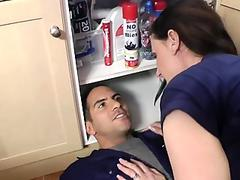Bigtitted Cougar Bent Over And Pussyfucked
