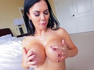Milf with big fake tits