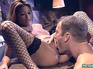 Amazing lesbian sex with Asa Akira