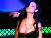 Hot shemale fetish and cumshot